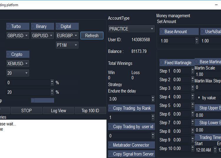IQ Copy Trading Robot